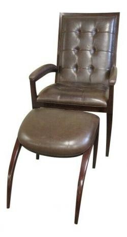 Кресло + пуфик
