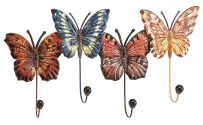 """Настенная вешалка """"Бабочки"""""""