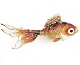 """Ёлочная игрушка """"Золотая рыбка"""""""